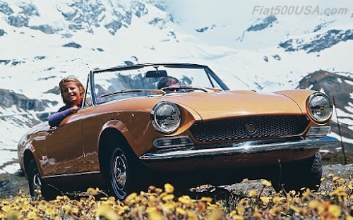 Early 1970s Fiat 124 Sport Spider