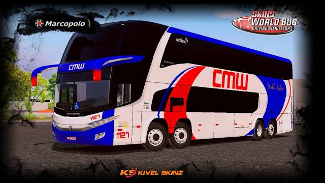 PARADISO G7 1800 DD 8X2 - VIAÇÃO CMW TRANSPORTES