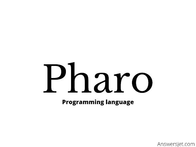 Pharo Programming Language