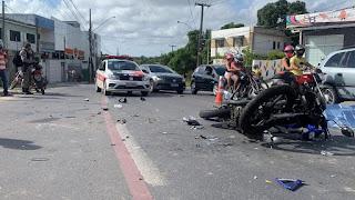 Homem morre e outro fica ferido após colisão entre duas motos, na Paraíba