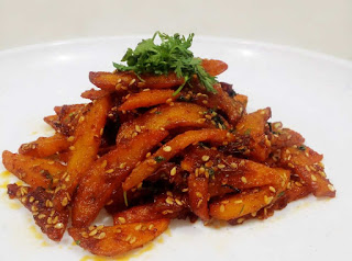 Potato Sesame Stirred Fry