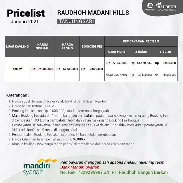 Raudhoh Madani Hills Tanjung Sari