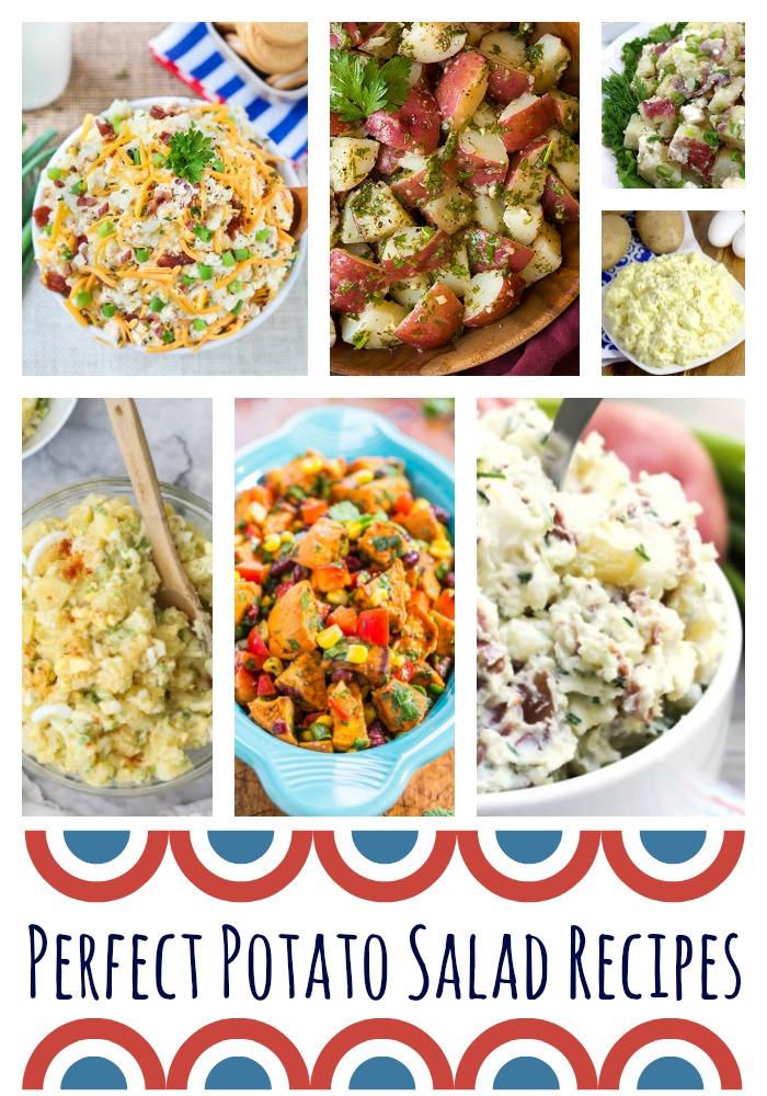 Perfect potato salad recipes building our story for Deviled egg potato salad recipe easy