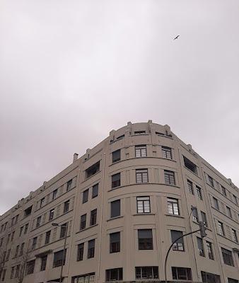 fachada de edifício art deco