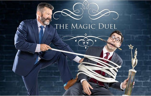 Comedy Magicians: The Magic Duel Comedy Show. Mark Phillips & Brian Curry