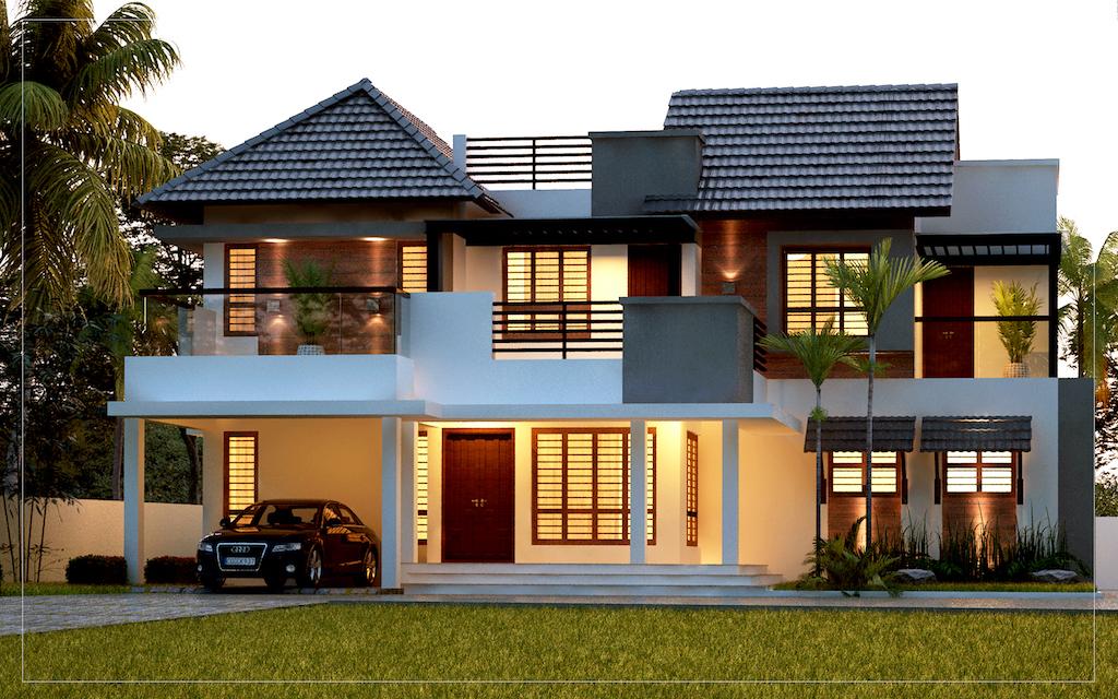 38 Lakh 4 BHK 2200 sq ft Kochi Villa
