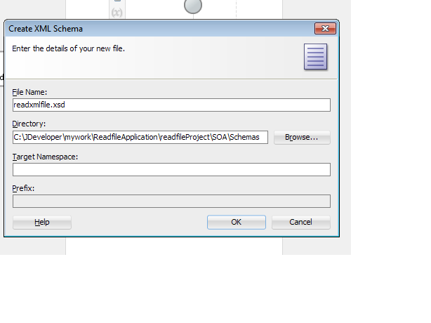 How to read XML file without prefix and namespace in SOA