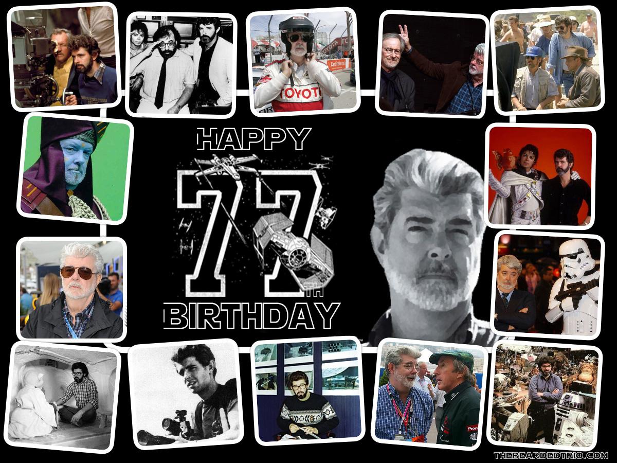 Happy 77th Birthday, George Lucas