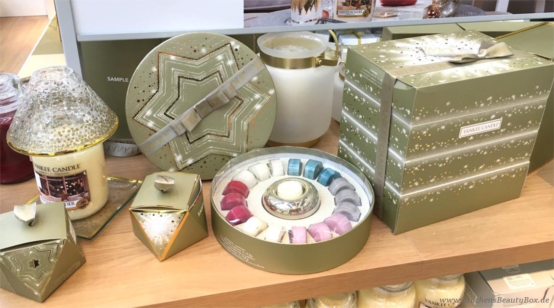 Yankee Candle - Alle Kollektionen und Duftbeschreibungen für 2018 - Winter- Weihnachtskollektion Holiday Sparkle - Accessoires und Geschenksets