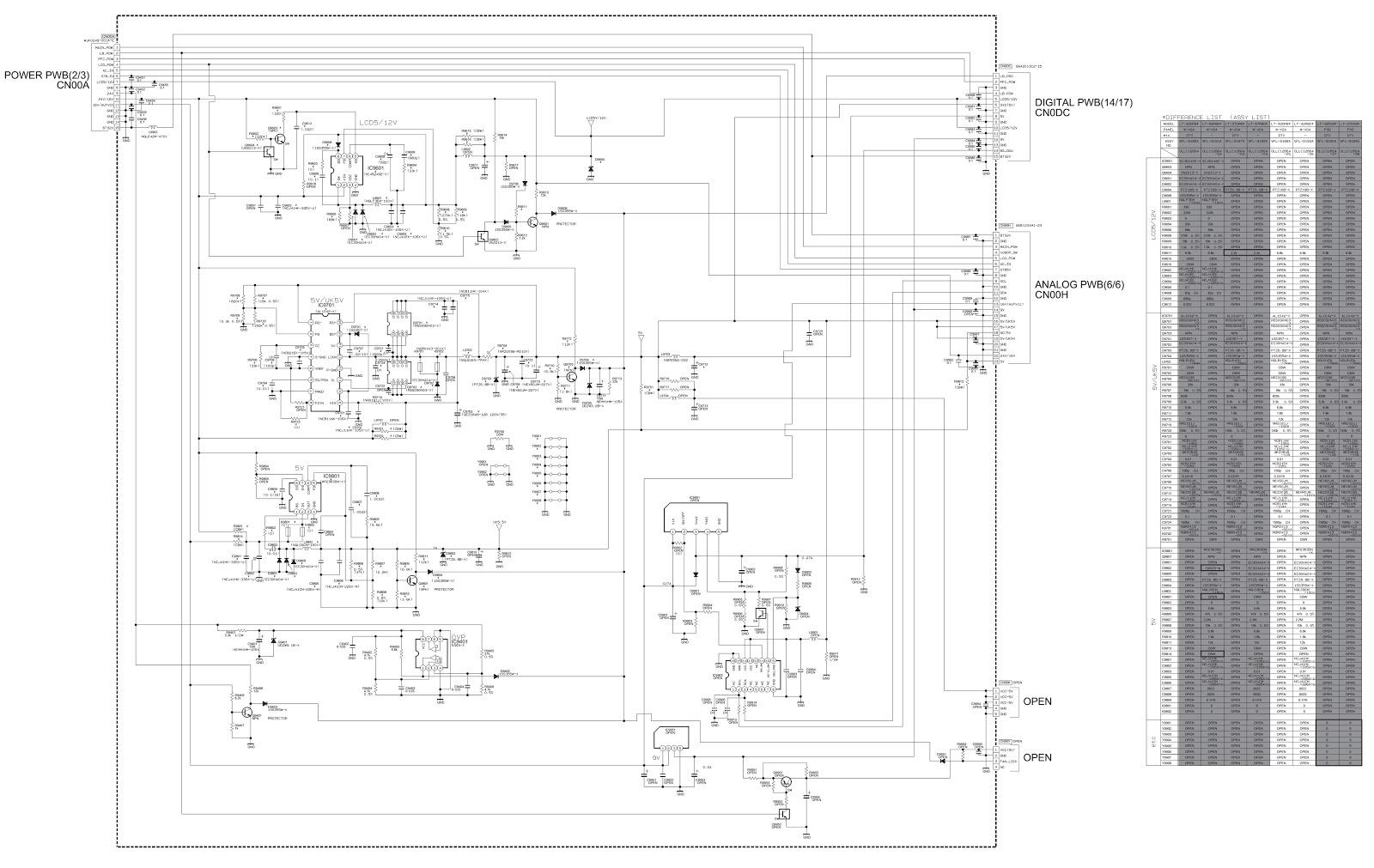 [ANLQ_8698]  Electro help: JVC LT-42P80BU - JVC LT-42DP8BG - SMPS and LED BACK-LIGHT  DRIVER SCHEMATIC | Jvc K Series Circuit Diagram |  | Electro help - blogger