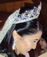 diamond crescent tiara selangor malaysia queen tengku ampuan rahimah sharifah eliza jamalullail