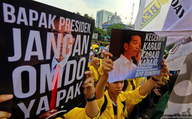 BEM Seluruh Indonesia Ungkap Ada Upaya Menutupi Aksi Mahasiswa Demo Jokowi