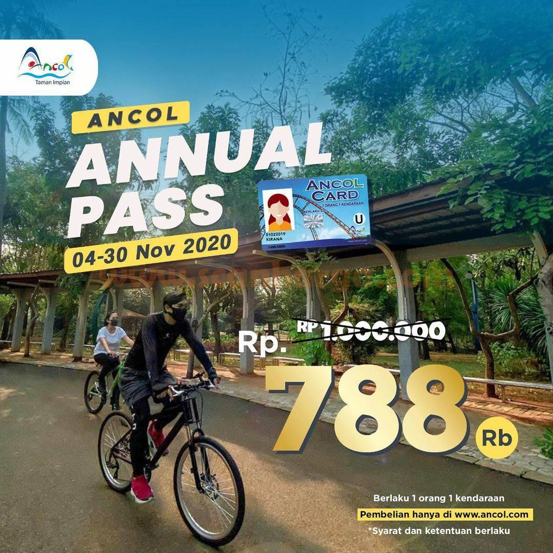 Ancol Annual Pass Promo harga Spesial hanya Rp 788rb