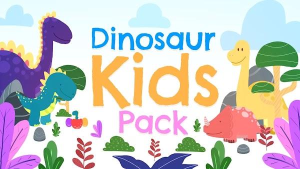 Filmstocks Dinosaur Kids Pack | Filmora Effects