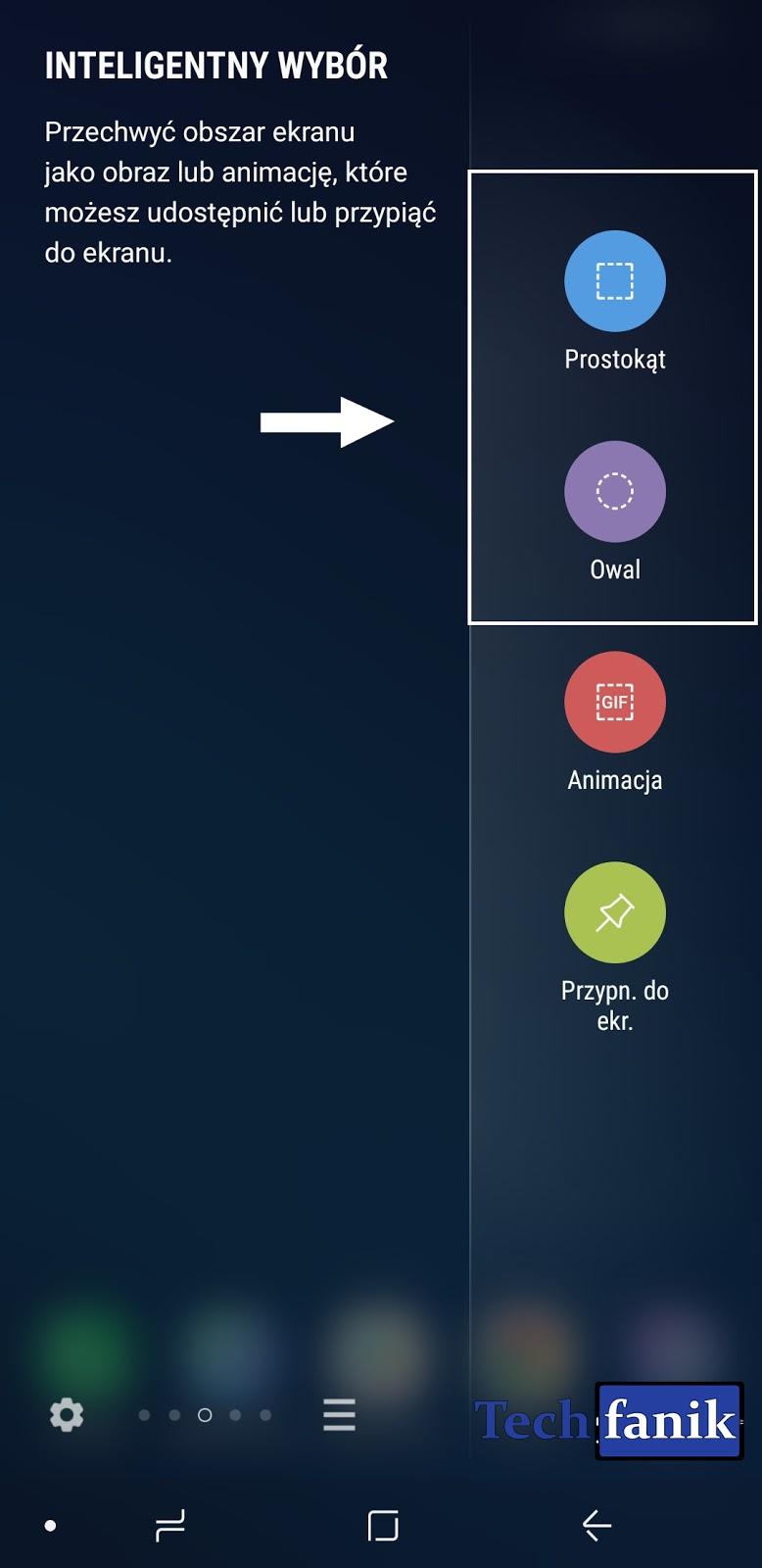 zrzut ekranu samsung s9