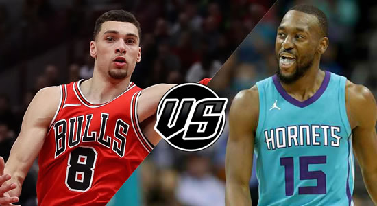 Live Streaming List: Chicago Bulls vs Charlotte Hornets 2018-2019 NBA Season