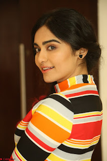 Adha Sharma in a Cute Colorful Jumpsuit Styled By Manasi Aggarwal Promoting movie Commando 2 (99).JPG