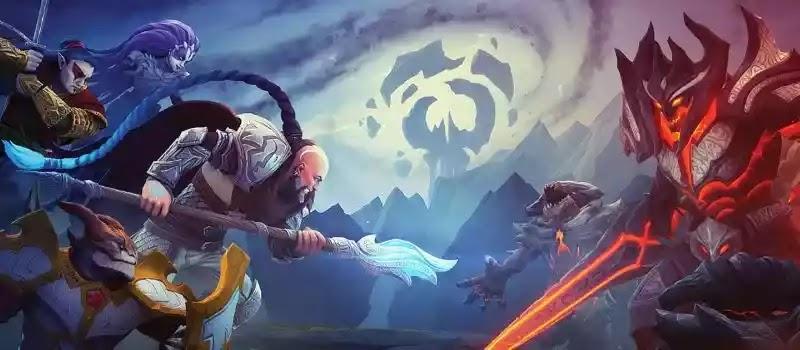 Age of Magic يقاتل الأبطال على بقايا عالم سحري قديم. في نوع RPG للجوال.