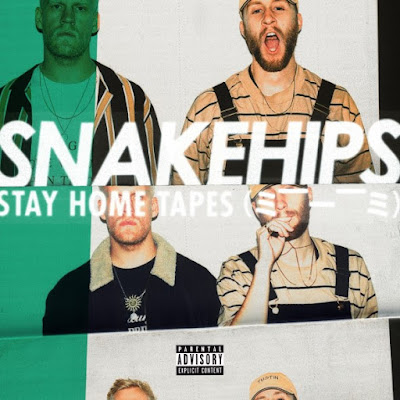 "Snakehips Unveil ""STAY HOME TAPES (= —____— =)""  EP"