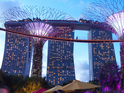 Marina Bay Sands, Gardens by The Bay.