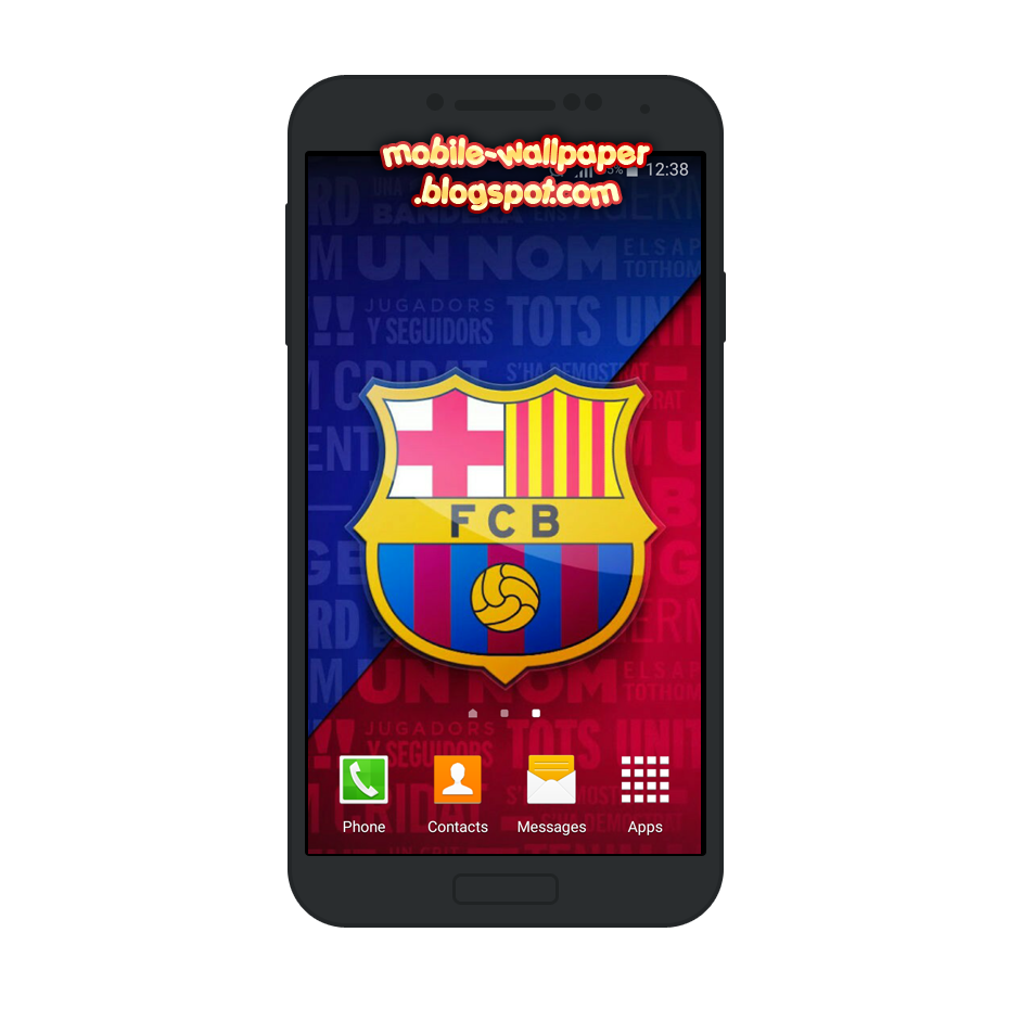 FC Barcelona Mobile Wallpaper