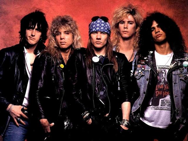 Guns N' Roses vs Steel Panther.  #PMRC PunkMetalRap.com