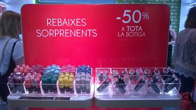 Aterlier Lab de Yves Rocher en Barcelona