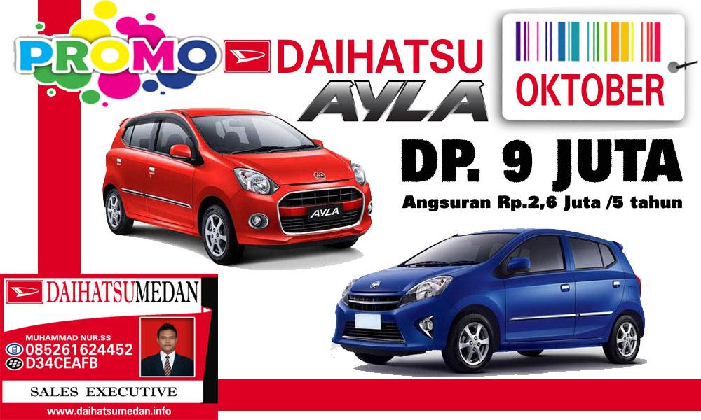 Oktober 2016 Kami Berikan Promo Khusus Buanda Yang Ingin Memili Mobil Daihatsu Dengan DP Dan Cicilan Murah Untuk Info Di Medan