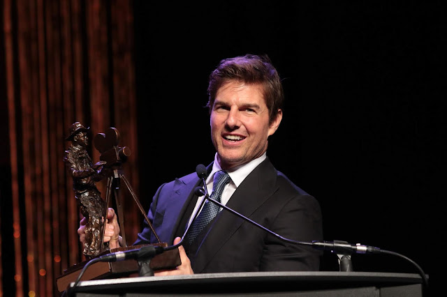 Tom Cruise Simple And Short Hairstyle