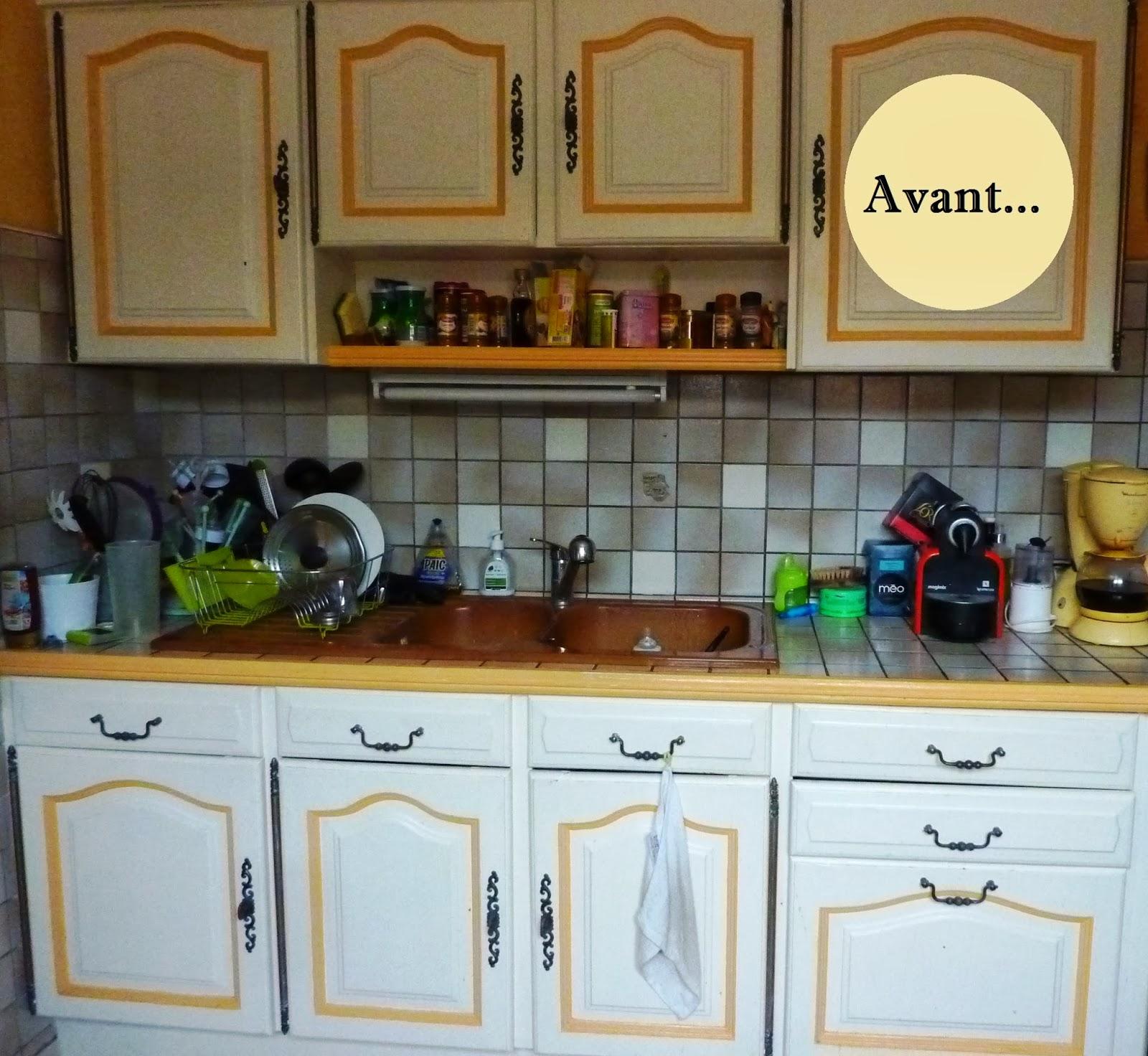 Recouvrir Carrelage En Relief initiales gg  : {avant/après} rénover sa cuisine en 2