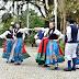 Grupo Folclórico Alemão Eintracht se apresenta na Sociedade de Bolão Tirolês - CURTA BLUMENAU