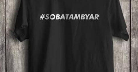 Kaos Sobat Ambyar Didi Kempot Rp 75 000 Satu Oblong Indonesia