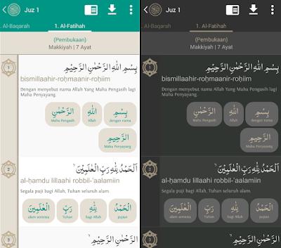 Tema Al Quran Indonesia, bisa gelap bisa terang