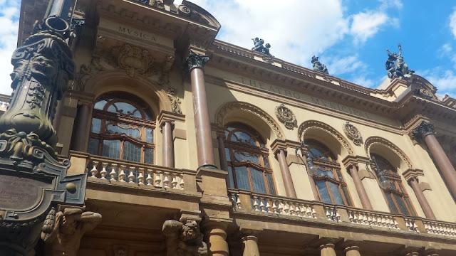 Fachada do Teatro Municipal de São Paulo