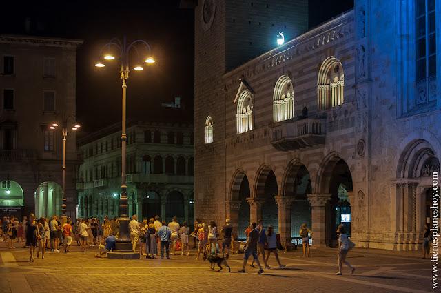 Como noche Italia verano