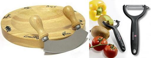 Нож-сечка, Овощной нож