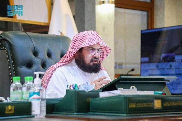 السديس يعلن خطة رئاسة الحرمين الشريفين لموسم رمضان