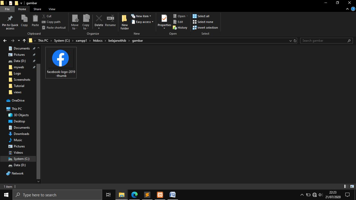 Tutorial Codeigniter Part 6 : Membuat  Upload File Dengan Codeigniter