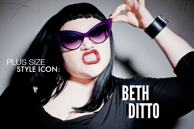 Plus Size Style Icon Beth Ditto The Militant Baker