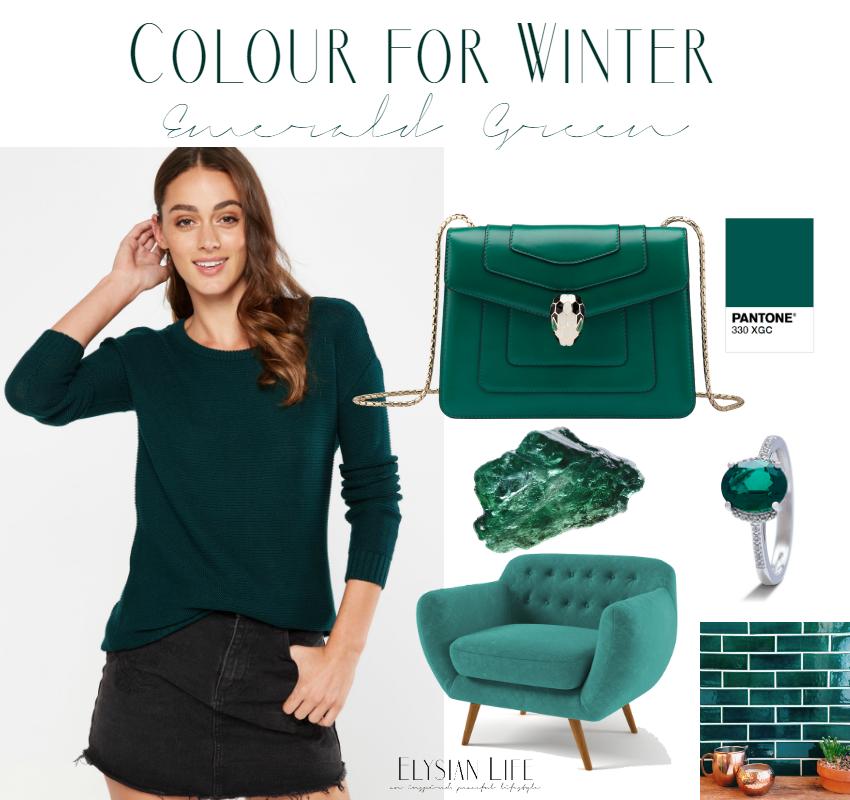 emerald, green, colour, season, winter