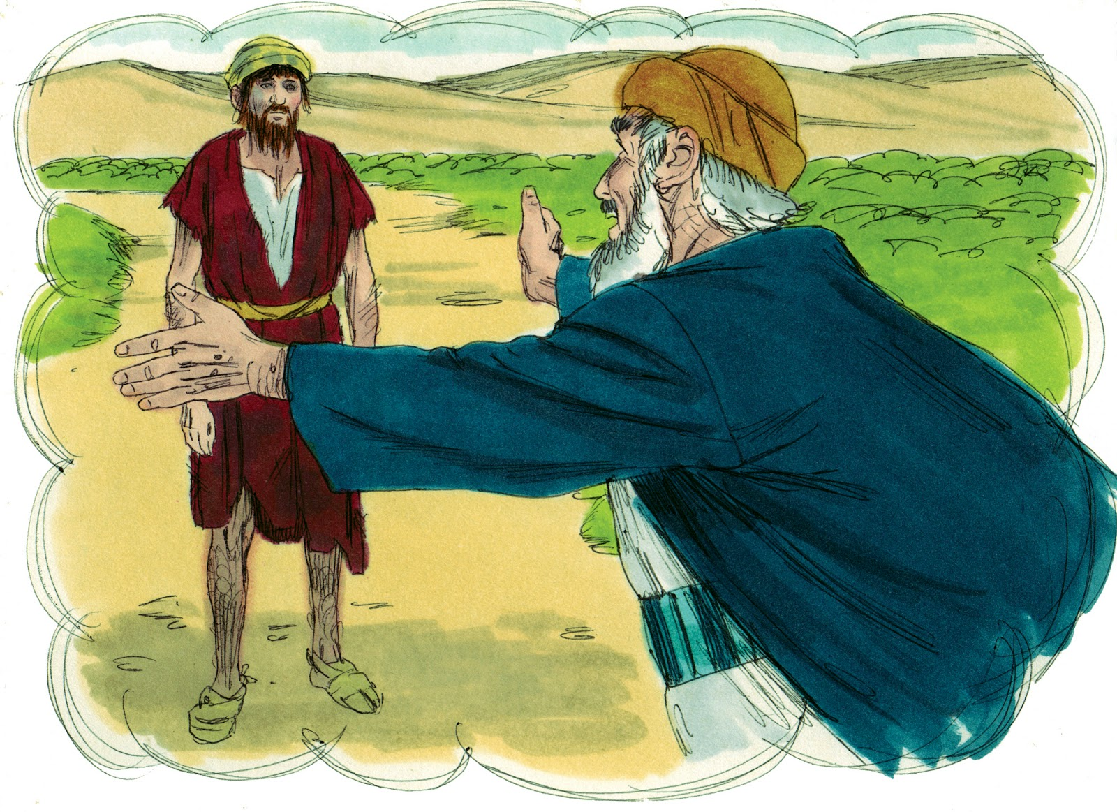 Bible Fun For Kids Parable Of The Prodigal Son