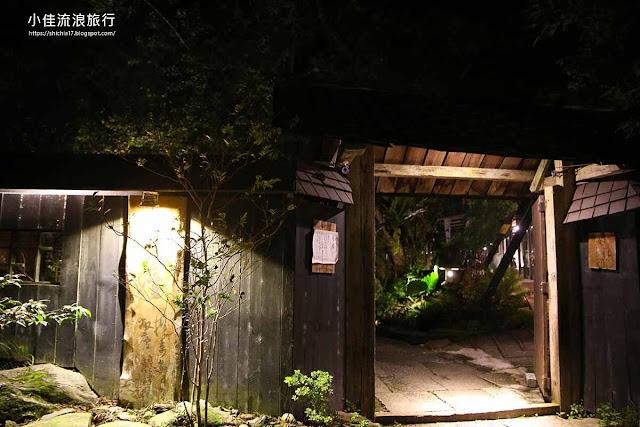 月廬食堂門口
