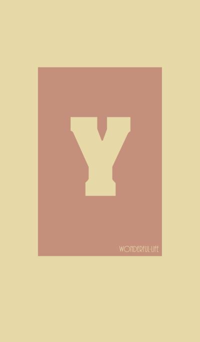 Vintage Initial Y.