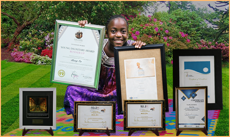 Meet the 11-yr-old South African author who is publishing her fifth book