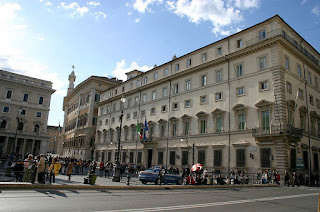 The Palazzo Chigi has been the official Rome residence of Italian prime ministers since the 1960s