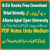 B.Ed Material FREE Download In PDF Books