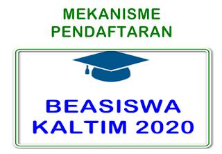 Mekanisme Pendatftaran Beasiswa KALTIM 2020; Kategori Beasiswa Stimulan Siswa