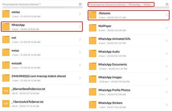 Cara Menyimpan Story WhatsApp Orang Lain Tanpa Aplikasi