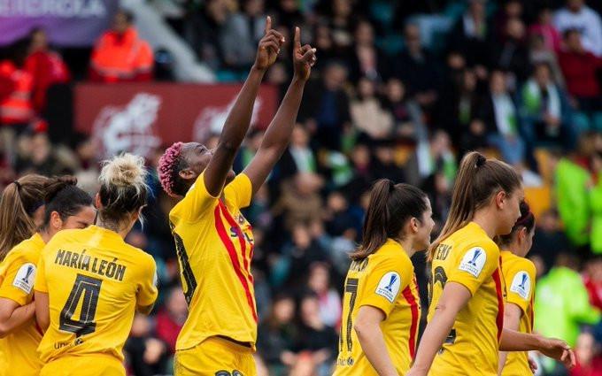 Asisat Oshoala Wins Second League Title With Barcelona Ladies