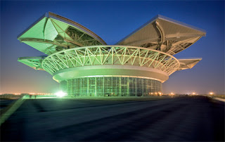 Architecture And Design Magnolia Tennis Stadium Shanghai